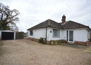 Thumbnail 2 bed detached bungalow for sale in Mallard Close, Hordle, Lymington