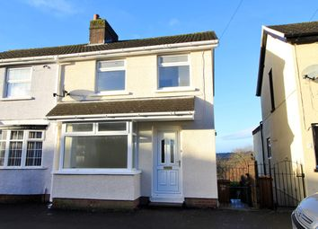 Thumbnail 2 bed semi-detached house for sale in Pencoed Avenue, Cefn Fforest, Blackwood