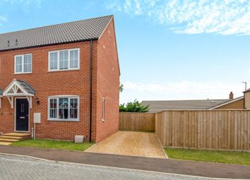 Thumbnail 3 bed semi-detached house for sale in Willow Tree Close, West Lynn, King's Lynn