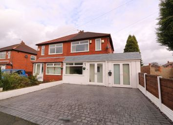 Thumbnail 2 bed semi-detached house for sale in Gloucester Road, Denton, Manchester