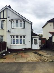 Thumbnail 2 bed semi-detached house to rent in Berkeley Avenue, Clayhall, Ilford