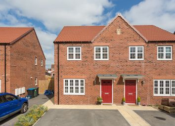 Thumbnail 3 bed semi-detached house for sale in Goldfinch Way, Easingwold, York