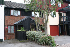 Thumbnail 2 bed terraced house to rent in Marina Approach, Hayes