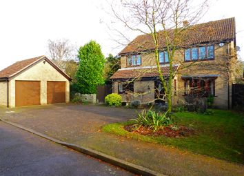 Thumbnail 4 bed detached house for sale in Grove Court, Turvey, Bedford