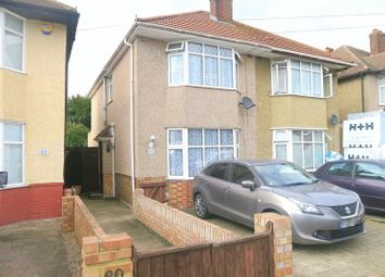 Thumbnail 4 bed semi-detached house for sale in Hamilton Road, Feltham