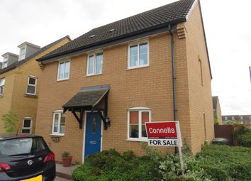 Thumbnail 3 bed semi-detached house for sale in Sprigs Road, Hampton Hargate, Peterborough