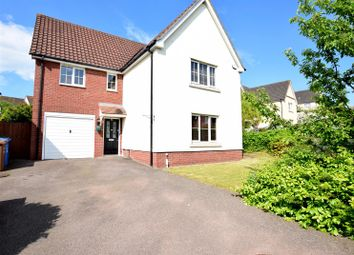 Thumbnail 4 bed detached house for sale in The Swale, Norwich