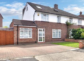 Thumbnail 5 bed semi-detached house for sale in Lodge Close, Cowley, Middlesex