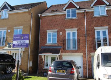 Thumbnail 3 bed town house for sale in Wordsworth Gardens, Borehamwood