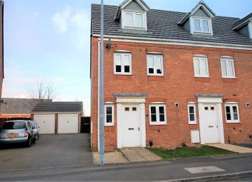 Thumbnail 3 bed town house for sale in Blenheim Drive, Darlaston, Wednesbury