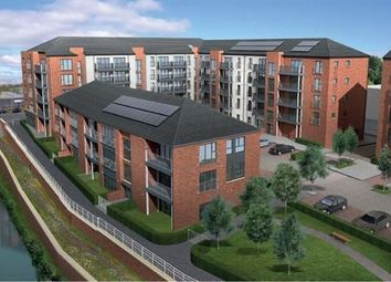 Thumbnail 1 bed flat for sale in Plot 31, Waterside Walk, Bonnington