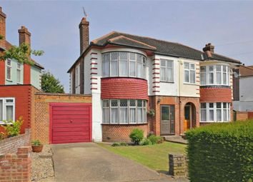 Thumbnail 3 bed semi-detached house for sale in Hyde Park Avenue, Winchmore Hill, London