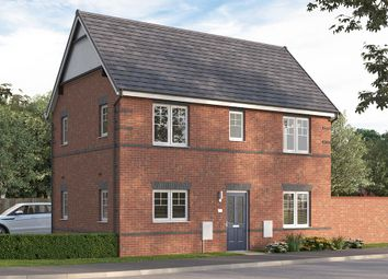 "Thumbnail 3 bed semi-detached house for sale in ""The Seabridge"" at Etwall Road, Mickleover, Derby"