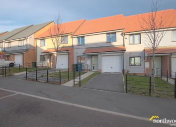 Thumbnail 3 bed terraced house for sale in Bellshiel Grove, The Rise, Newcastle Upon Tyne