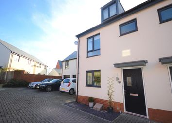 Thumbnail 3 bed semi-detached house for sale in Old Quarry Drive, Exminster, Exeter, Devon