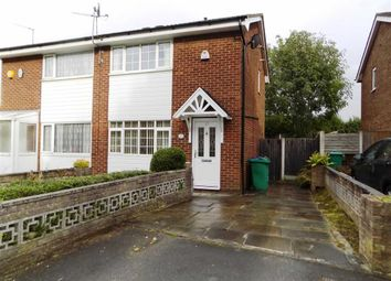 Thumbnail 2 bed semi-detached house for sale in Thornholme Close, Manchester