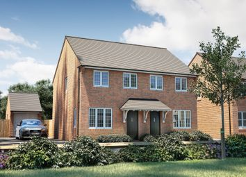 "Thumbnail 3 bed semi-detached house for sale in ""The Studland"" at Oakley Wood Road, Bishops Tachbrook, Leamington Spa"
