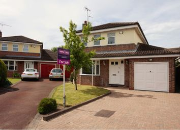 Thumbnail 4 bed detached house for sale in Burton Fields Close, York