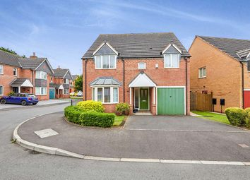 Thumbnail 4 bed detached house for sale in Woods Lane, Burton-On-Trent, Staffordshire
