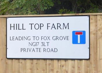 Thumbnail Land for sale in Old Road, Sutton-In-Ashfield