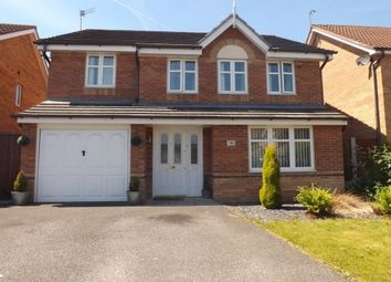 Thumbnail 4 bed detached house to rent in Hampton Court Way, Widnes