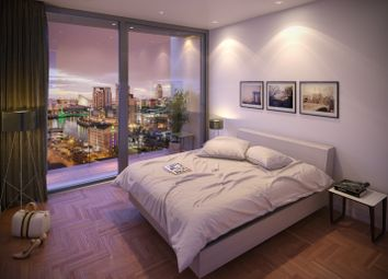 Thumbnail 2 bedroom flat for sale in Trafford Road, Salford