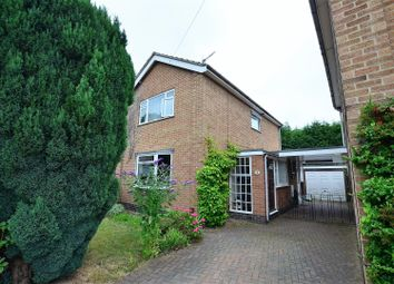 Thumbnail 3 bed detached house for sale in Wood Croft, Littleover, Derby
