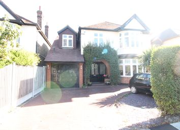Thumbnail 4 bedroom detached house to rent in Crossways, Gidea Park, Romford, Essex