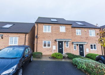 Thumbnail 3 bed semi-detached house for sale in Whitley Close, Irthlingborough, Wellingborough