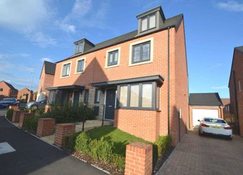 Thumbnail 4 bed semi-detached house for sale in Walmer Close, Northampton