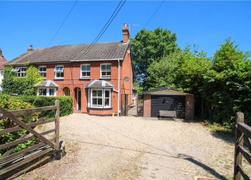 Thumbnail 3 bed detached house for sale in Sandy Lane, Church Crookham, Fleet