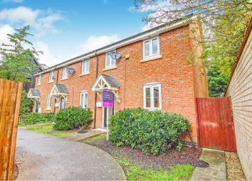Thumbnail 3 bed end terrace house for sale in Bourneys Manor Close, Willingham, Cambridge