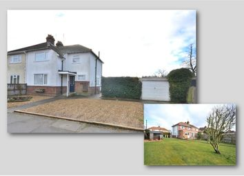 Thumbnail 3 bed semi-detached house for sale in Hulton Road, King's Lynn