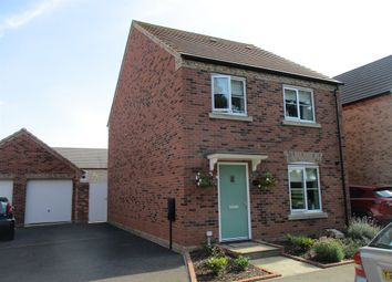 Thumbnail 4 bedroom detached house for sale in Hunts Field Drive, Gretton, Corby