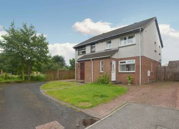 Thumbnail 3 bed semi-detached house for sale in Hobart Quadrant, Wishaw, North Lanarkshire