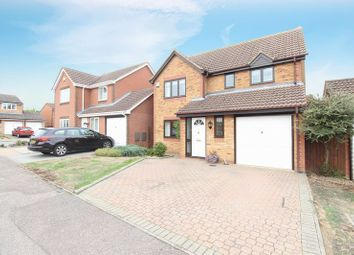 Thumbnail 4 bed detached house for sale in Quenby Way, Bromham, Bedford