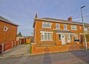Thumbnail 3 bedroom end terrace house for sale in Fakenham Avenue, Acklam, Middlesbrough