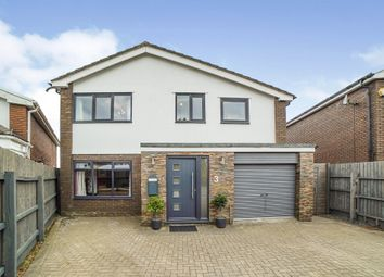 Thumbnail 5 bedroom detached house for sale in Erw'r Delyn Close, Penarth