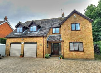 Thumbnail 4 bed detached house for sale in Queens Road, Attleborough