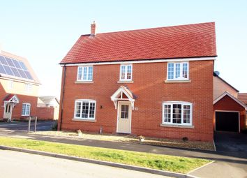 Thumbnail 4 bed detached house for sale in Swallow Drive, Wymondham, Norfolk
