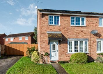 Thumbnail 3 bed semi-detached house for sale in Lowry Way, Stowmarket