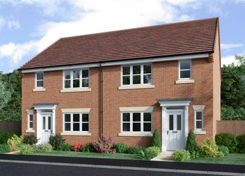 Thumbnail 3 bed semi-detached house for sale in Meadows View, Bottesford, Nottingham