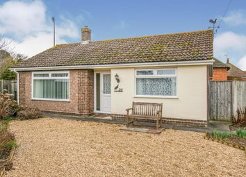 Thumbnail 2 bed detached bungalow for sale in Bittern Road, Rollesby, Great Yarmouth