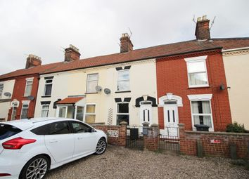 Thumbnail 2 bedroom terraced house for sale in Avonmouth Road, Norwich