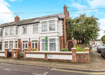 Thumbnail 3 bed terraced house for sale in Park Grove, Cosham, Portsmouth