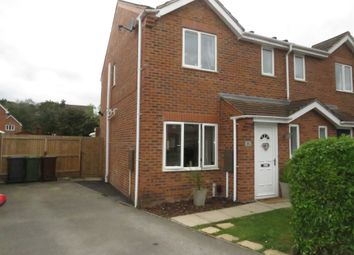 Thumbnail 3 bed semi-detached house for sale in Petersfield Close, Lincoln