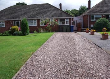 Thumbnail 2 bed bungalow to rent in Woodhouse Lane, Amington, Tamworth, Staffordshire