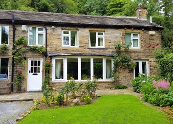 Thumbnail 4 bed cottage for sale in Netheroyd Hill Road, Fixby, Huddersfield, West Yorkshire