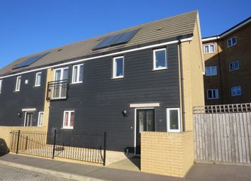 Thumbnail 3 bed semi-detached house for sale in Fox Field Close, Grays