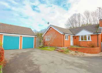 Thumbnail 3 bed detached bungalow for sale in Norbury Close, Church Hill North, Redditch, Worcs
